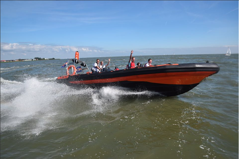 Rib varen op Gouwzee en Markermeer
