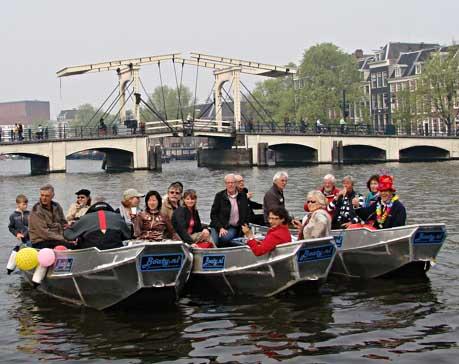 Waar een sloep huren in Amsterdam?