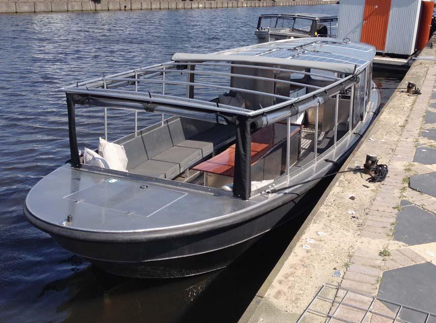Salonboot nieuw